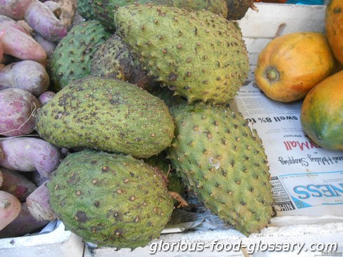 The Guyabano (Soursop) Fruit from the Philippines